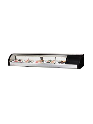 "Everest ESC71R Countertop Refrigerated Sushi Display Case 71""   FREE SHIPPING W/O LIFTGATE"