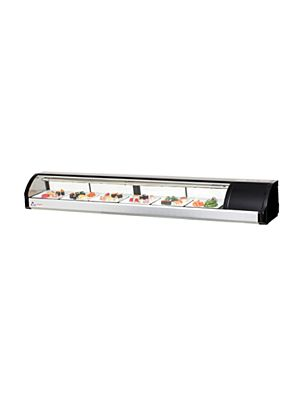 "Everest ESC83R Countertop Refrigerated Sushi Display Case 82.75""  FREE SHIPPING W/O LIFTGATE"