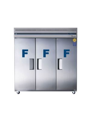 "Everest ESF3 Triple Solid Door Upright Reach-In Freezer 75""  FREE SHIPPING WITH LIFT GATE!"