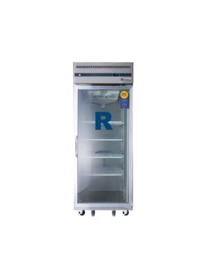 "Everest ESGR1 Single Glass Door Upright Reach-In Refrigerator 29.25""   FREE SHIPPING WITH LIFT GATE!"