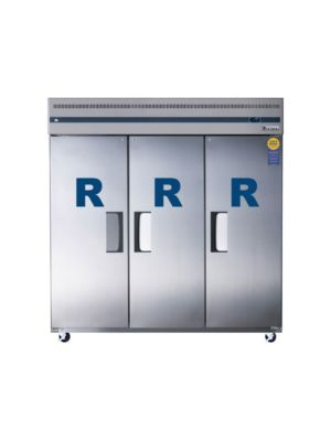 "Everest ESR3 Triple Solid Door Upright Reach-In Refrigerator 75""   FREE SHIPPING WITH LIFT GATE!"