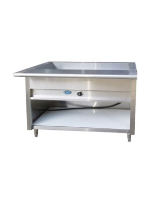 "L&J EST-48 Electric Steam Table 48"" - 208V - 1 Phase"