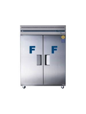 "Everest ESWF2 Wide Dual Solid Door Upright Reach-In Freezer 59""   FREE SHIPPING WITH LIFT GATE!"
