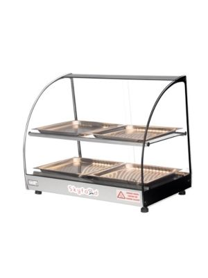 "Skyfood FWD2-22-4P Countertop Heated Food Warmer Display w/ 2-Shelves and 4-Trays 22"" - 120V"