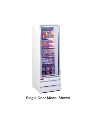 Howard McCray GF22BM-LT Hinged Single Glass Door Ice Cream Merchandiser Freezer
