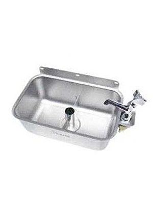L&J IDWB-610TR Ice Cream Rectangular Dipper Well with Faucet