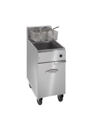 Imperial IFS-40-E 40 lbs. Electric Fryer 208V - Single Phase