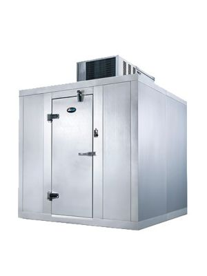"""AmeriKooler QC060677**FBSC Quick Ship Indoor Walk-In Cooler, Self Contained, With Floor 6'x6'x7'7"""" - FREIGHT NOT INCLUDED"""