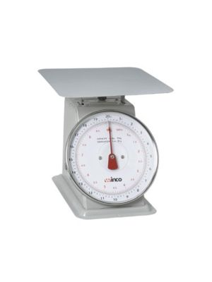 """Winco SCAL-820 20lb Receiving Scale with 8"""" Dial"""