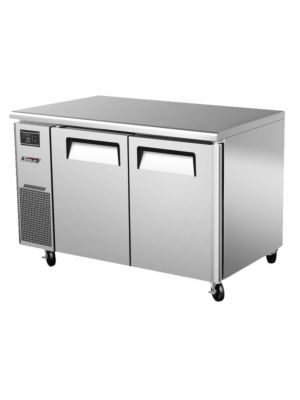 Turbo Air JUF-48-N Two-Door J Series Undercounter Freezer - FREE SHIPPING WITHOUT LIFTGATE