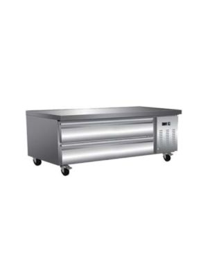 "MVP Group ICBR-62 Ikon Series Refrigerated 62"" Chef Base  FREE SHIPPING W/O LIFTGATE"