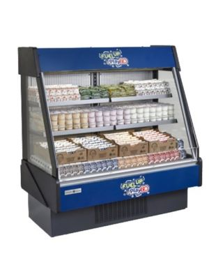 MVP Group KGL-RS-40-S Hydra Kool Grab-N-Go Low Profile Open Merchandiser - 41""
