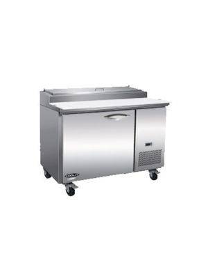 MVP Group IPP47 IKON Series One-Door Stainless Steel Pizza Prep Table  FREE SHIPPING W/O LIFTGATE