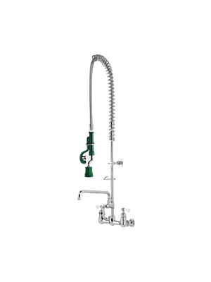 Krowne Royal Series, Krowne 17-109WL pre-rinse Assembly, with add-on faucet, wall mount