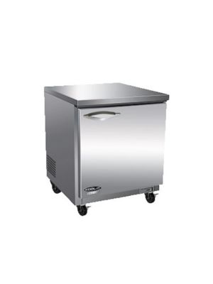 "MVP Group IUC28F IKON Series 27"" One-Section Undercounter Freezer  FREE SHIPPING W/O LIFTGATE"