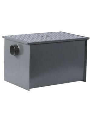 L&J LJ-LO-40 40 lb. Non-PDI Regular Low-Profile Grease Trap