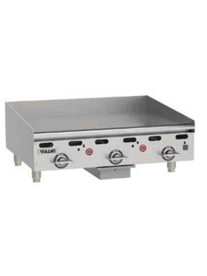 "Vulcan MSA36-101 36"" Heavy Duty Griddle, Natural Gas - Free Shipping Without Liftgate!"