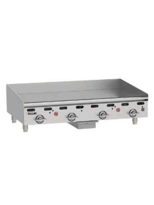 "Vulcan MSA48-101 48"" Heavy Duty Griddle, Natural Gas - Free Shipping Without Liftgate!"