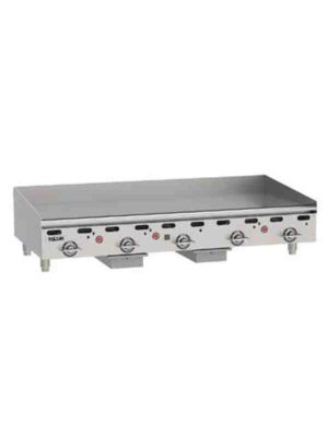 """Vulcan MSA60-101 60""""  Heavy Duty Griddle, Natural Gas - Free Shipping Without Liftgate!"""