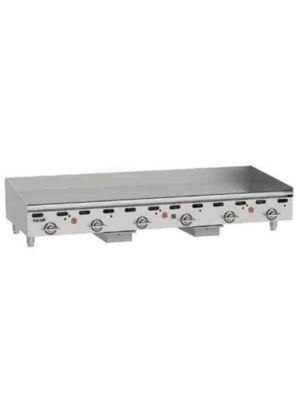 """Vulcan MSA72-101 72"""" Heavy Duty Griddle, Natural Gas - Free Shipping Without Liftgate!"""