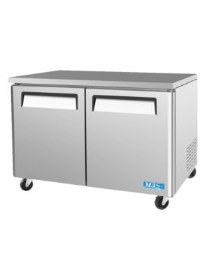 Turbo Air MUF-48-N Two-Door M3 Series Undercounter Freezer - FREE SHIPPING WITHOUT LIFTGATE