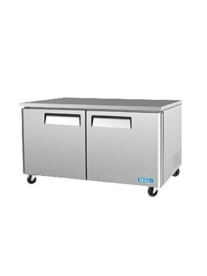 Turbo Air MUF-60-N Two-Door M3 Series Undercounter Freezer - FREE SHIPPING WITHOUT LIFTGATE