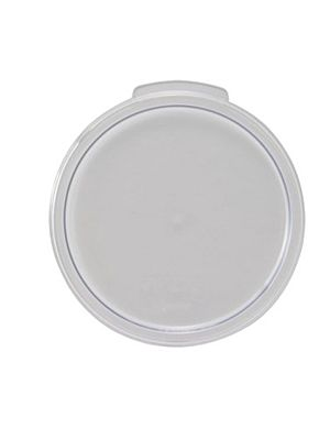 Winco PCRC-1C Cover for 1 Quart Round Plastic Containers