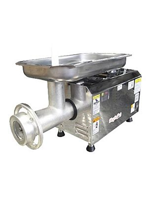Skyfood PSE-32HD Bench Style Heavy Duty Electric Meat Grinder with #32 Hub