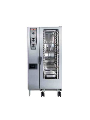 Rational 201 (A219106.27E.202)  Combi Oven With Twenty Half Size Sheet Pan Capacity - Natural Gas FREE SHIPPING W LIFT GATE!