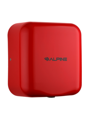 Alpine 400-10-RED Hemlock Heavy Duty, 110-120V, Stainless Steel, Automatic Hand Dryer - Red - FREE SHIPPING