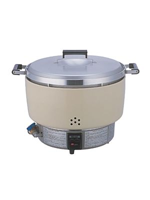 Thunder Group Rinnai RER-55ASN 55 Cup Commercial Gas Rice Cooker - 9,600 BTU