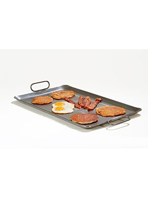 Rocky Mountain Cookware RM1423-8 Add on Chef King Griddle 2 burner 14x23