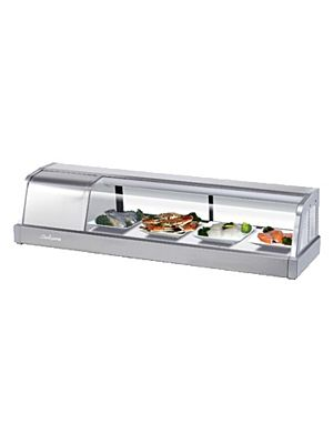 Turbo Air SAK-50L-N Four Foot Refrigerated Sushi Display Case - FREE SHIPPING WITHOUT LIFTGATE