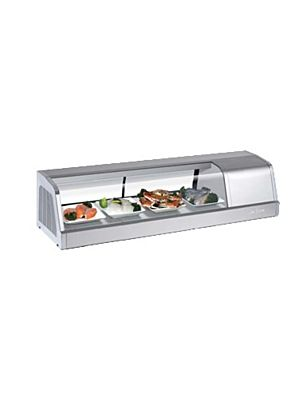 Turbo Air SAK-50R-N Four Foot Refrigerated Sushi Display Case - FREE SHIPPING WITHOUT LIFTGATE