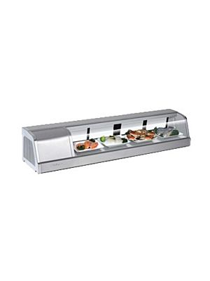 Turbo Air SAK-60L-N Five Foot Refrigerated Sushi Display Case - FREE SHIPPING WITHOUT LIFTGATE