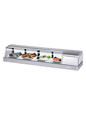 Turbo Air SAK-60R-N Five Foot Refrigerated Sushi Display Case - FREE SHIPPING WITHOUT LIFTGATE