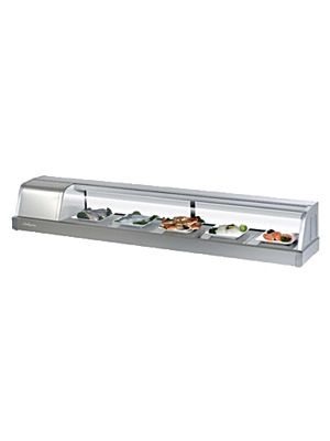 Turbo Air SAK-70L-N Six Foot Refrigerated Sushi Display Case - FREE SHIPPING WITHOUT LIFTGATE
