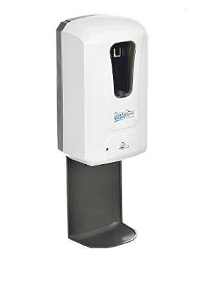 MVP Group SANIWALL Wall Mount Touchless Automatic Liquid/Gel Soap/Hand Sanitizer Dispenser