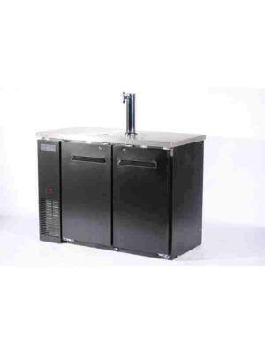 "Spartan SBD-2 Dual Keg Refrigerator / Dispenser - 49"""