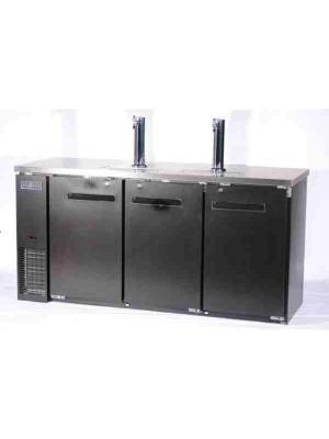 "Spartan SBD-3 Triple Keg Refrigerator / Dispenser - 73"""
