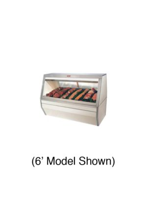 Howard McCray SC-CMS35-4-LED Red Meat Refrigerated Display Case 50""