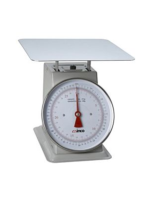 "Winco SCAL-810 10lb Receiving Scale with 8"" Dial"