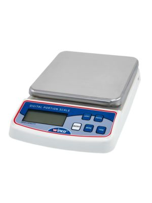 Winco SCAL-D20 20lb. Capacity Portion Control Scale