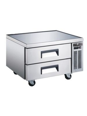 "Spartan SCB-36 36.5""  Refrigerated Chef Base with 2 Drawers"