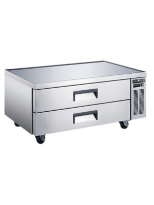 "Spartan SCB-52 52""  Refrigerated Chef Base with 2 Drawers"