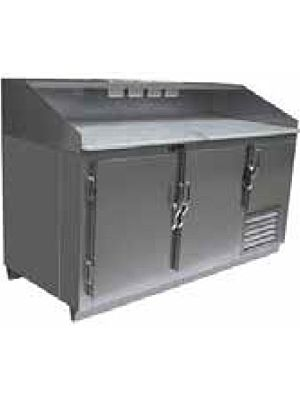 """Universal Coolers SC-48-DRT 48"""" Refrigerated Dough Retarder Table"""
