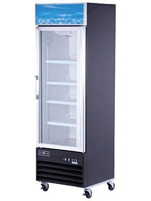 Spartan SGF-26 One (1) Door Reach-In Glass Door Merchandiser Freezer - 27""