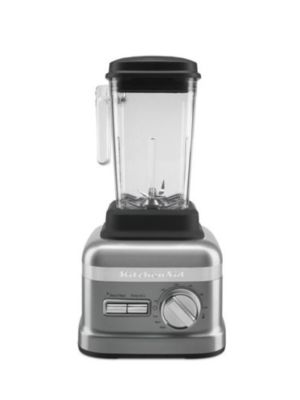 Kitchen Aid KSBC1B0CU Commercial NSF 3.5HP 60 oz Beverage Blender with Timer - Contour Silver