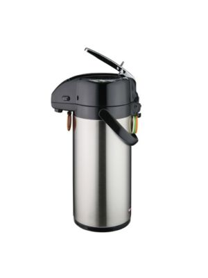 Winco APSK-725 2.5 Liter Stainless Steel Lined Double Wall Insulated Airpot