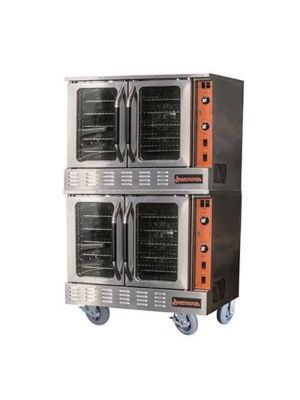 MVP Group Sierra SRCO-2 Single Deck Gas Convection Oven - 108,000 BTU